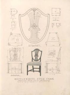 An exemplar of antique furniture design : a collection of measured drawings of…