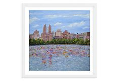 One Kings Lane - Emerging Artists - Julian Rapp, Central Park Reservoir