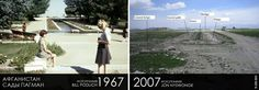 Paghman Gardens, Kabul Afghanistan taken 40 years apart. War has destroyed so much beauty. Before After Photo, Before And After Pictures, Gravel Path, Full History, Modern History, 40 Years, Photography Tutorials, Then And Now, Afghanistan