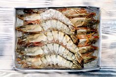 tigers on the board I Foods, Shrimp, Food Photography, Fish, Meat, Tigers, Board, Pisces, Planks