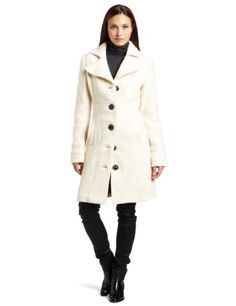 D.E.P.T. Women`s Curly Boucle Coat $174.30