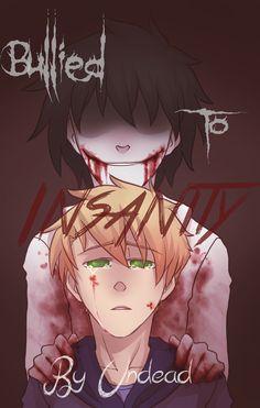 Cover d'une fanfiction sur Jeff The Killer (creepypasta).