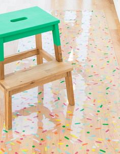 The Sprinkle Factory Studio Kitchen Reveal! Step inside my colorful sprinkle filled baking kitchen! Grab some baking supply organization ideas, be ready to get inspired. I The Sprinkle Factory Bakery Kitchen, Studio Kitchen, Kitchen Decor, Kitchen Design, Baking Organization, Organization Ideas, Organizing, Diy Confetti, Diy Inspiration