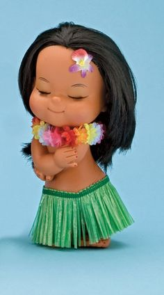 Hawaiian Girl! I had this same doll when I was a little girl!