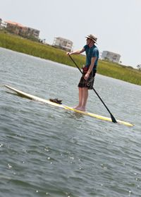 Bring your board or rent one from area outfitters and spend the day paddling through our waterways. NC's Brunswick Islands