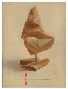 Saarinen Tulip chair advertisement by Herbert Matter Herbert Matter, Tulip Chair, Furniture Ads, Vintage Graphic Design, Modernism, Thesis, Editorial, Illustration Art, Advertising