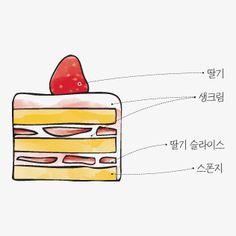 "chiveburger: "" caffe themselves : korea 화이트 쇼트 케이크 (white short cake) """