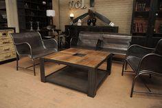 индустриальный стол для лофта
