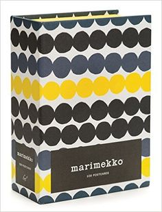 "A perfectly patterned way to send an ""I'm thinking of you Marimekko: 100 Postcards #Marimekko #Postcards"