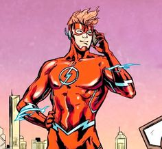 Wally West in Nightwing #15