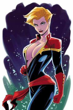 "thebestofwomenincomics: ""It's Captain Marvel week! Carol Danvers as Captain Marvel by Philip Moy "" Marvel Dc Comics, Marvel Vs, Marvel Heroes, Marvel Women, Marvel Girls, Comics Girls, Marvel Females, Marvel Comic Character, Marvel Characters"
