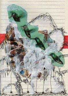 Painting and ...: Flieg Vogel, flieg