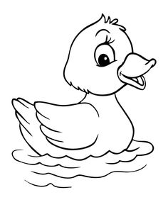 Printable duck coloring pages for kids - Free Printable Coloring Pages For Kids.Free Printable Coloring Pages For Kids. Duck Cartoon, Cartoon Pics, Cartoon Drawings, Animal Drawings, Cute Drawings, Baby Cartoon, Drawing Animals, Fish Coloring Page, Animal Coloring Pages