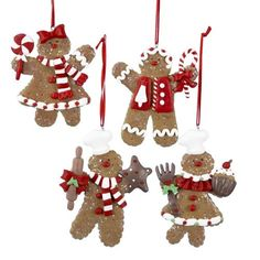 Kurt Adler 4-Inch Claydough Gingerbread Ornament, Set of 4 Kurt Adler http://smile.amazon.com/dp/B0062CFRYY/ref=cm_sw_r_pi_dp_-6kUwb177JDQA