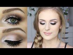 ROMANTIC MAKEUP   Zoeva Cocoa Blend Palette! Sally Jo - YouTube
