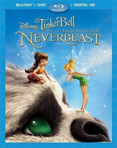 Tinker Bell and the Legend of the Neverbeast Blu Ray Brand New Movie