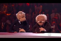 Dancing with the Stars new judges! Waldorf and Statler! ;)