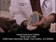 Plantar Fasciitis Relief - Foot Pain Heel Pain Arch Pain Back Pain Relief - Good Feet Ft. Collins - YouTube
