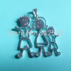 Find More Pendant Necklaces Information about sterling silver personalized name necklace family pendant dad mom and boy son as christmass gift set,High Quality Pendant Necklaces from onlyu jewelry on Aliexpress.com
