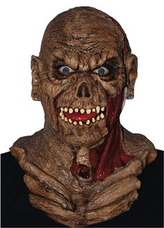 Pagan Zombie Mask & Shoulders : Free Shipping & Low Prices at MagicNevin