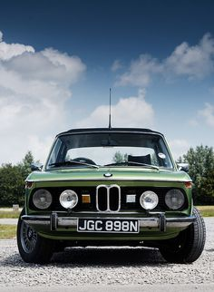 BMW 2002 look at that sweet face!