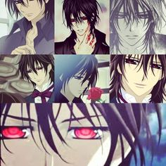 Kaname collage that I made :) mmmm. Kaname Kuran Vampire Knight