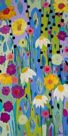 Portland on My Mind 24x48 by Carrie Schmitt at www.carrieschmittdesign.com