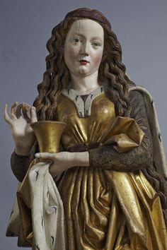Magdalena aus dem Nördlinger Altar, Niclaus Gerhaert von Leyden . Der Bildhauer des Mittelalters