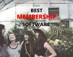Best membership software options by Mauricio Escobar from eDigital Marketing Tools, Digital Marketing, Design Development, Software, Website