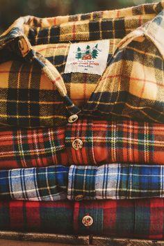 Cozy Cabin Plaid Flannels from Kiel James Patrick.