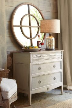 Bellamy Chest - Hand Painted Chest, Weathered Look, Chests & Dressers | Soft Surroundings