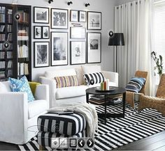 black and white stripe carpet living room coffee table entranceway handmade carpet j-c2 e on AliExpress.com. $128.10