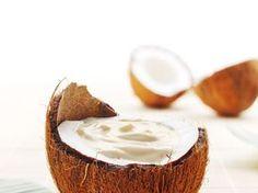oeuf, lait de coco, lait, gélatine, crème fleurette