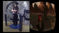 GTA 4 in VR - Cyberith Virtualizer + Oculus Rift + Wii Mote = Mindblowing Experience