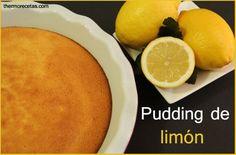Pudding de limón