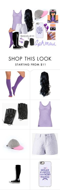 """""""Untitled #1059"""" by lily-kun ❤ liked on Polyvore featuring ToeSox, Torrid, Bergans, J.Crew, Converse and Casetify"""
