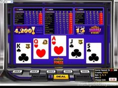 Check 103 #Video #Poker games out. Play all of them for free >> jackpotcity.co/free-video-poker.aspx