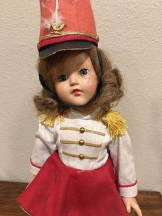 "Majorette Anne Shirley Effanbee 15"" Composition Doll #Dolls"