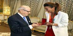 رئيس الجمهورية يكرم العداءة حبيبة الغريبي | وكالة أنباء البرقية التونسية الدولية