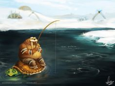 Tuskarr is Content by ~mimee on deviantART