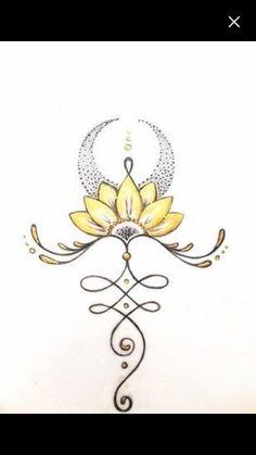 Between the breasts, flipped image, sunflower. Gorgeous Tattoos, Cute Tattoos, Flower Tattoos, Body Art Tattoos, New Tattoos, Small Tattoos, Yoga Tattoos, Script Tattoos, Arabic Tattoos