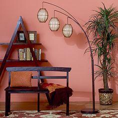 World Market-Tiki Arc Spheres Floor Lamp Living Room Flooring, My Living Room, Living Room Lighting, Home Lighting, Arc Floor Lamps, Arc Lamp, I Love Lamp, Cool Lamps, Affordable Home Decor