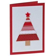 Ribbon tree card