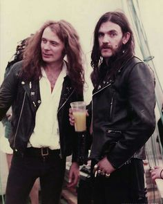Eddie Clarke & Lemmy Kilmister
