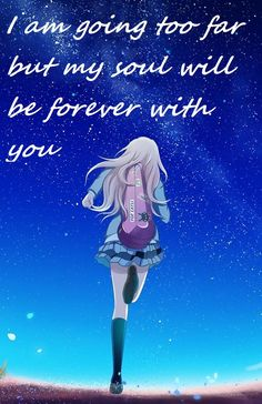 Kaori your lie in april..How i miss the magic of those ordinary days