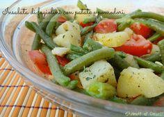 insalata di fagiolini con patate e pomdori ricetta estiva insalata fredda ricette estive