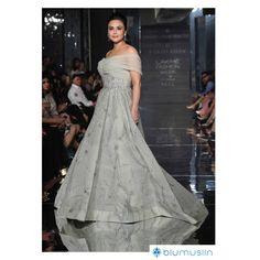 Preity Zinta charmed in Falguni & Shane Peacock.  #LakmeFashionWeek2017 #Lakme #FashionWeek #India #Mumbai #RampWalk #Designers #AW17 #FallCollection #Unveil #Fashion #FashionShow #Celebrity #LFW2017
