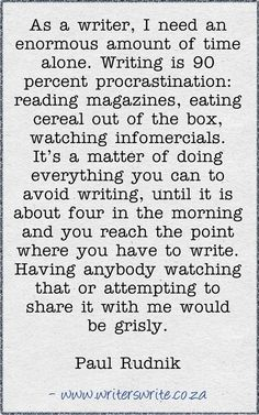 Needing time to write or procrastination?     https://www.facebook.com/photo.php?fbid=587183117975680