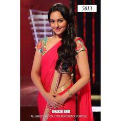 Bollywood Replica - Sonakshi Sinha In Hot Pink Designer Saree - 5013 (IB-25)