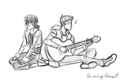 Please give me Lance singing